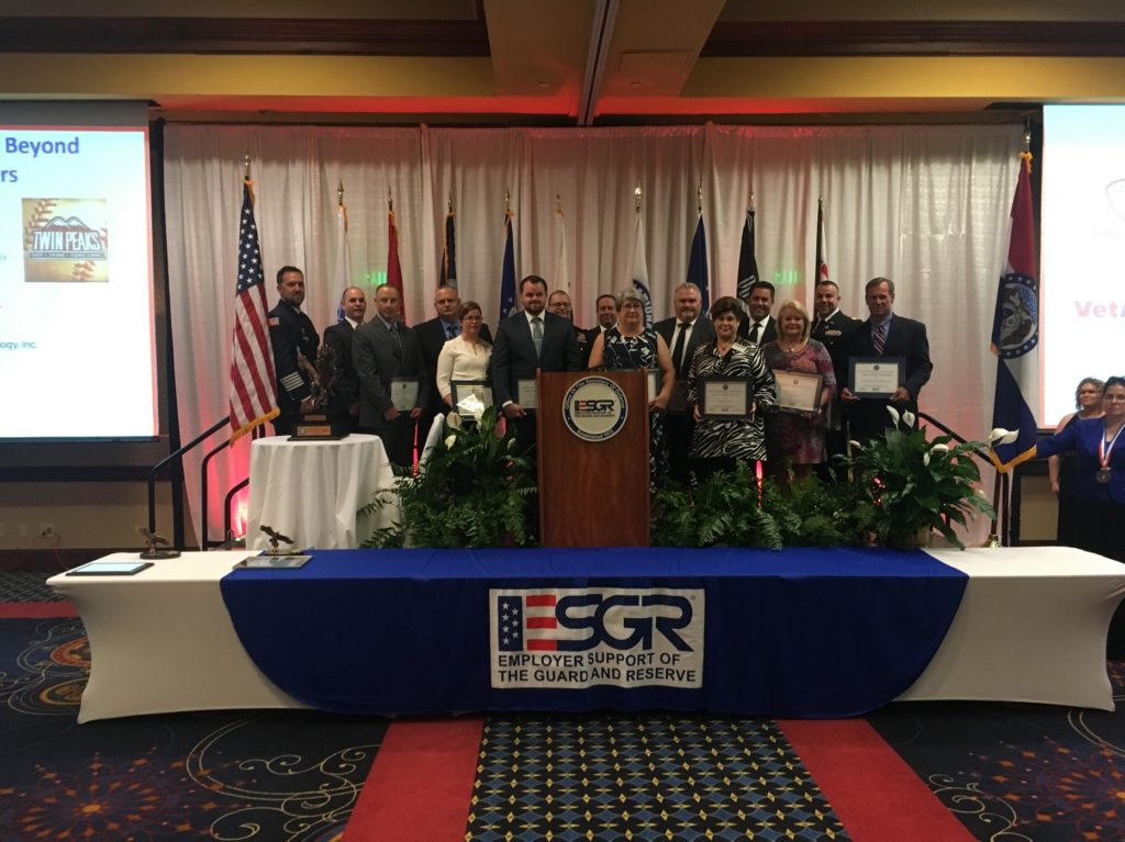 Department of Defense's MO ESGR Program's Above and Beyond Award
