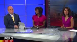 KTVI Fox 2 News Anchors Chris Higgins, Shirley Johnson and Jasmine Huda report on recent awards at Veterans Home Care