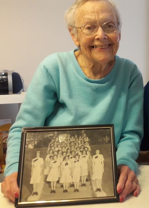 Philadelphia WWII Female Naval Reserve Veteran Gets Care As She Once Gave
