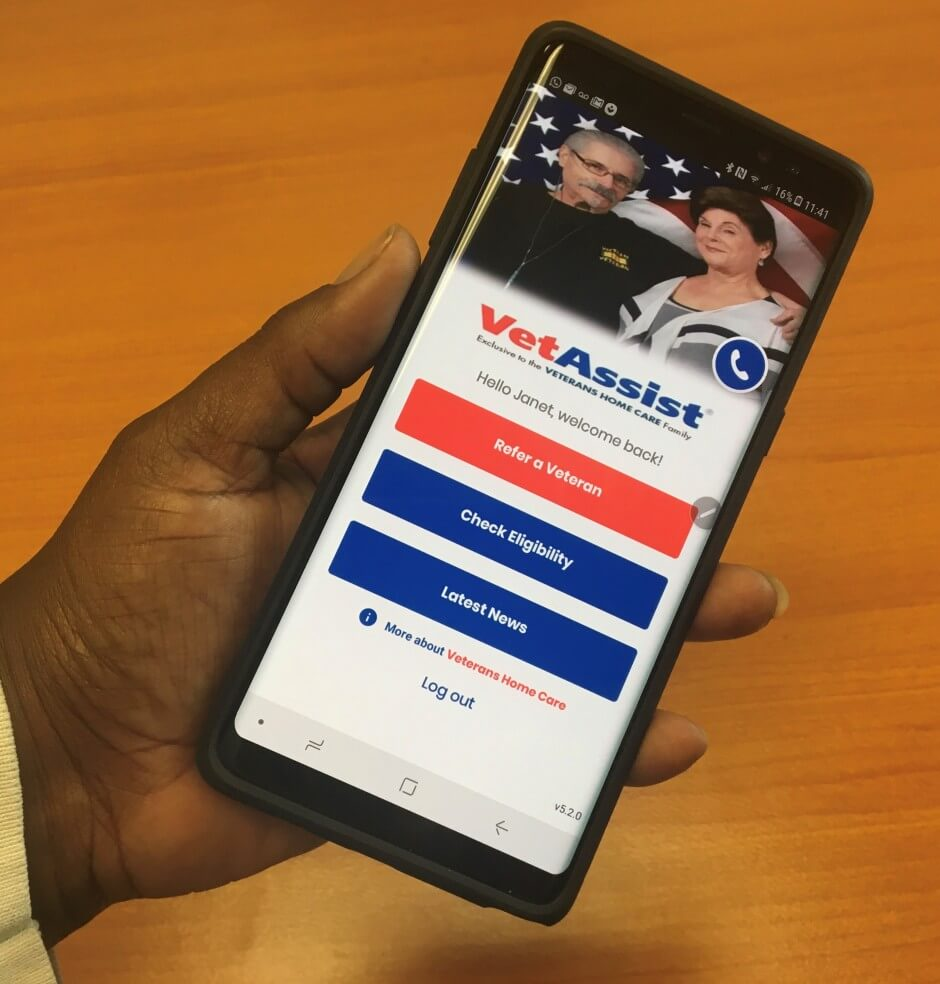 Veterans Home Care Launches New VetAssist® Mobile App for Senior Care Professionals