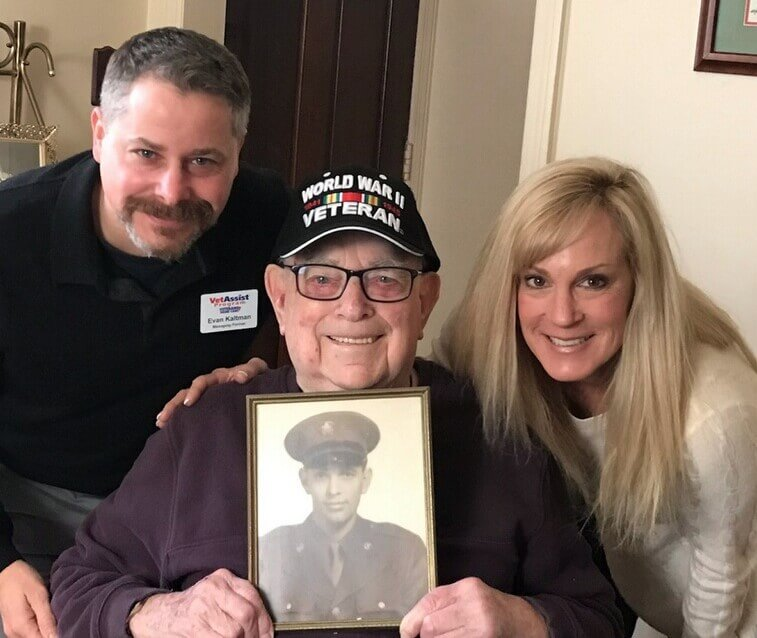 Happy Father's Day to A Special Hero – 101 Year Old WWII Veteran Robert Benden