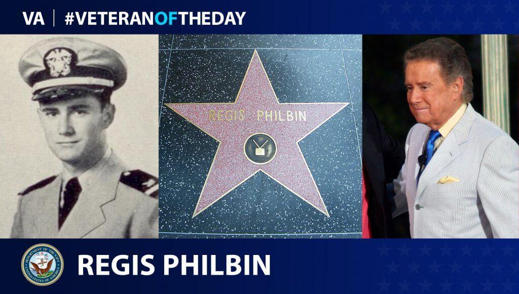 Regis Philbin navy